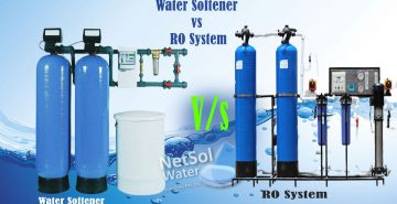 What is difference between softener plant and ro plant