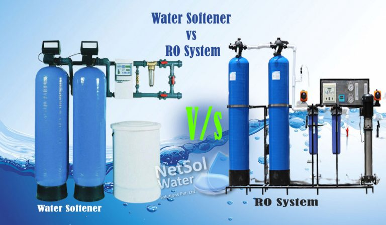 Difference Between Water Softener and RO System