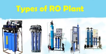 How many types of RO plants are there?