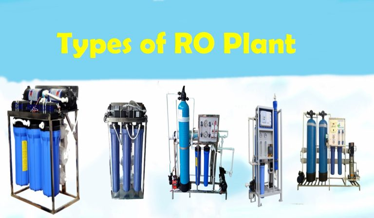 Types of Commercial RO Plant and Its features