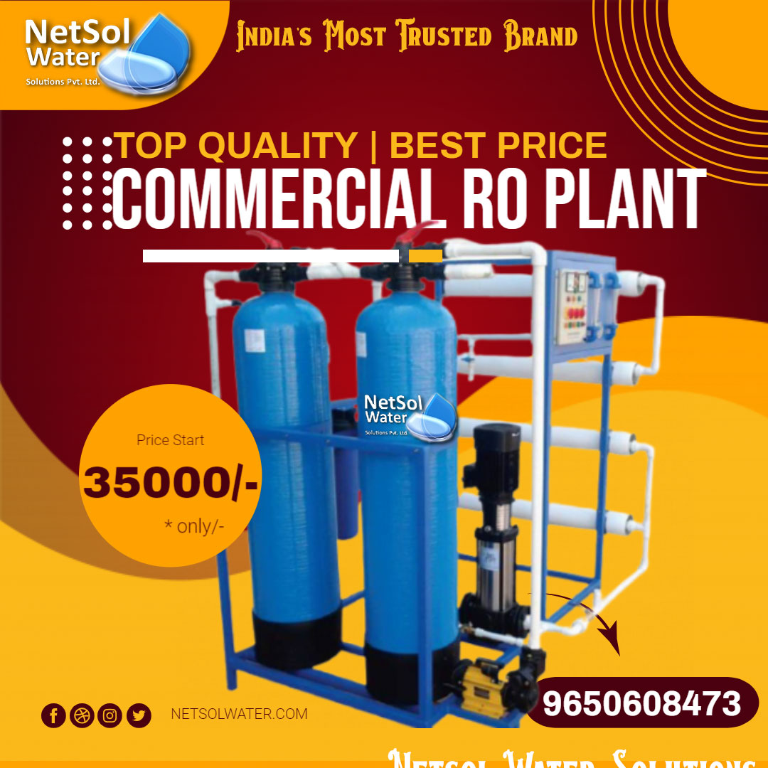 Commercial RO plant Manufacturer-Netsolwater.com